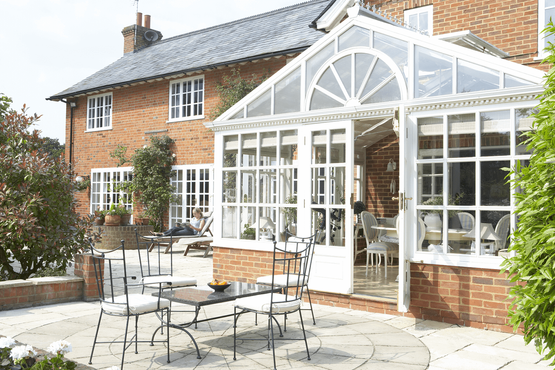 A master-built conservatory